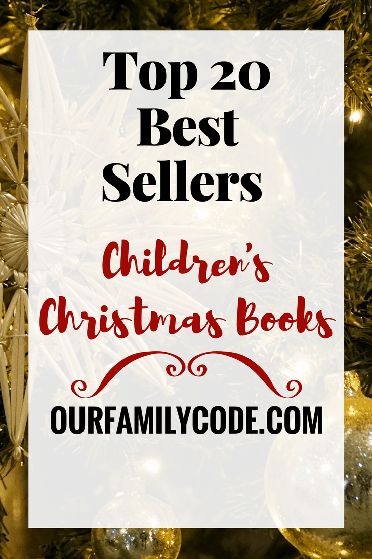 top 20 best sellers childrens christmas books