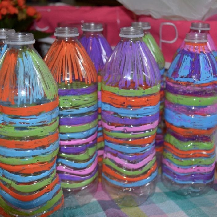 Make This Awesome Recycled Art Project And Reuse Plastic Water Bottles At The Same Time