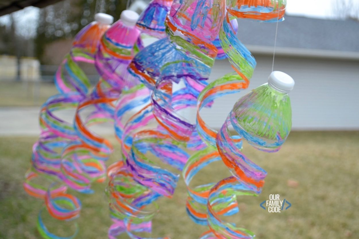 How To Make A Recycled Plastic Water Bottle Sun Catcher