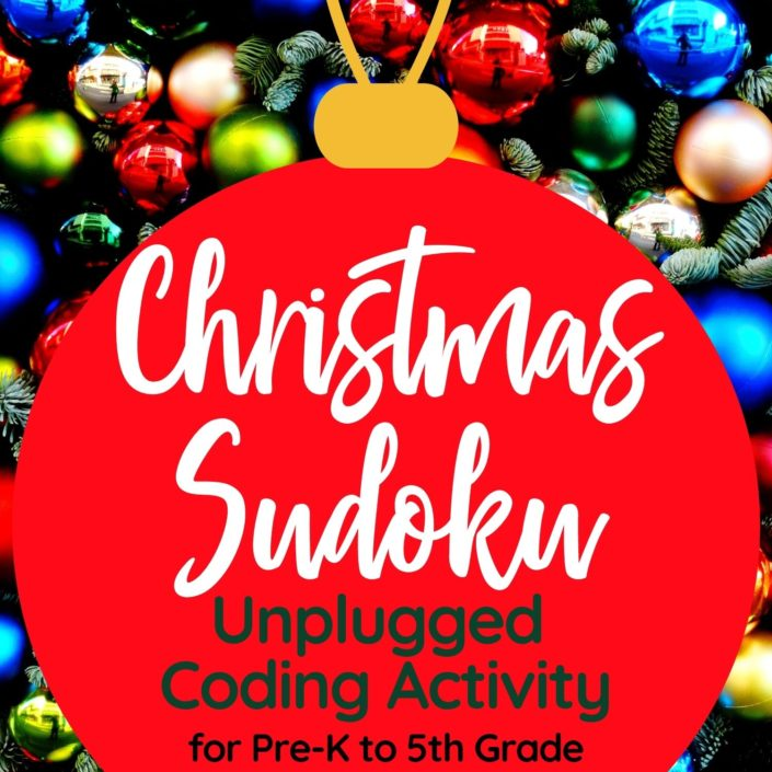 photograph about Christmas Sudoku Printable known as Xmas Sudoku Reasonable Reasoning Match for Youngsters