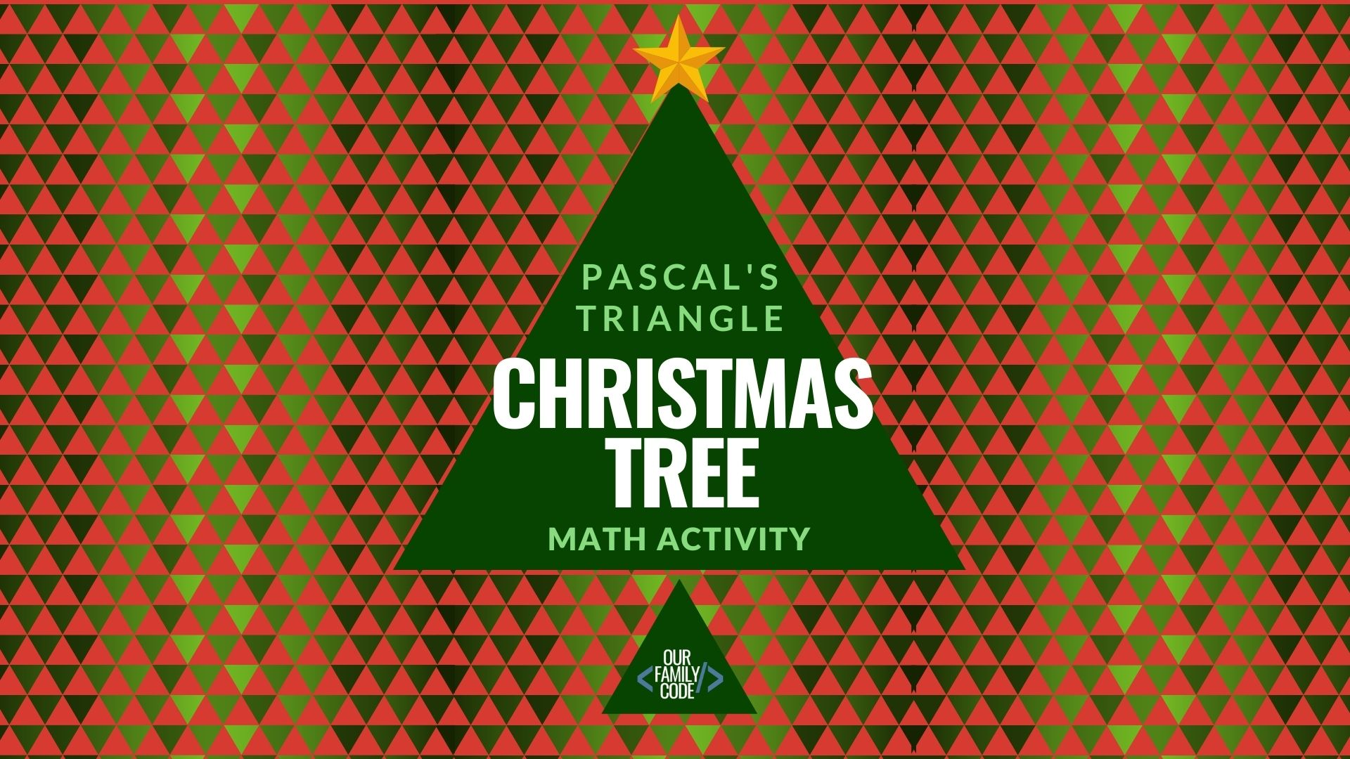Pascal's Triangle Christmas Tree Patterns Math Activity Fascinating Pascal Triangle Patterns