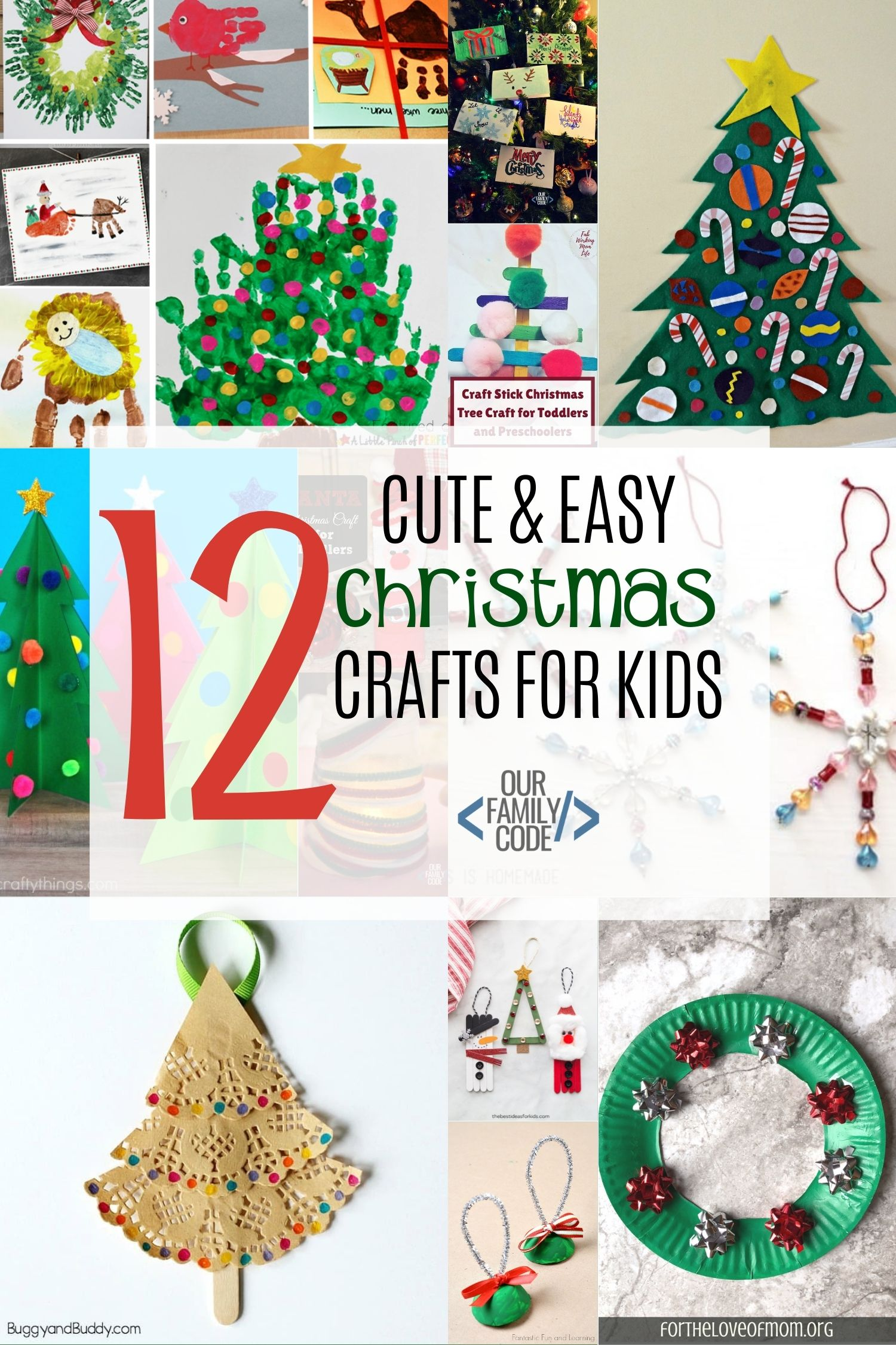 Cute Christmas Ideas For Kids.The Ultimate List Of Easy Christmas Crafts Activities And