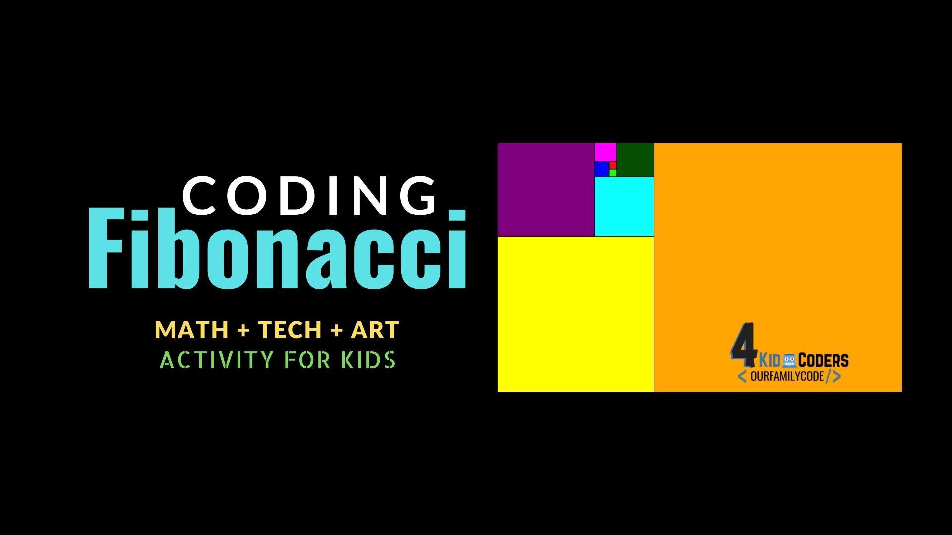 Code Fibonacci Rectangles in JavaScript   Our Family Code